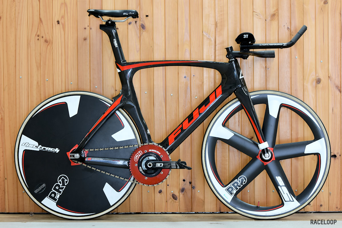 Jordan's Fuji Track Elite - Pursuit Setup